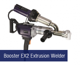 Booster EX2 Extrusion Welder